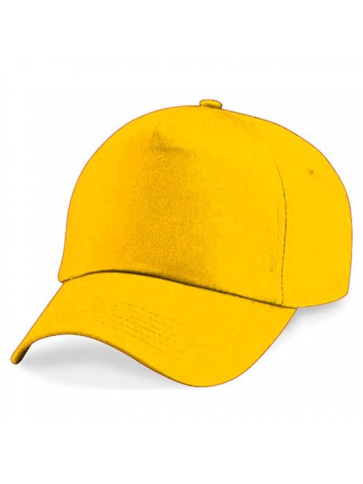 Plain Gold Baseball Cap, Gold Caps