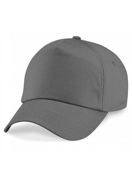 Plain Graphite Grey Baseball Cap, Graphite Grey Caps