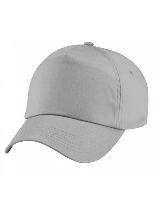 Plain Light Grey Baseball Cap, Light Grey Caps