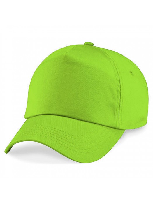 Plain Lime Green Baseball Cap, Lime Green Caps