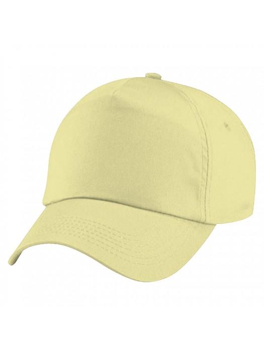 Plain Natural Baseball Cap, Natural  Caps