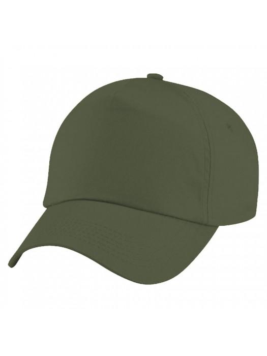 Plain Olive Baseball Cap, Olive  Caps