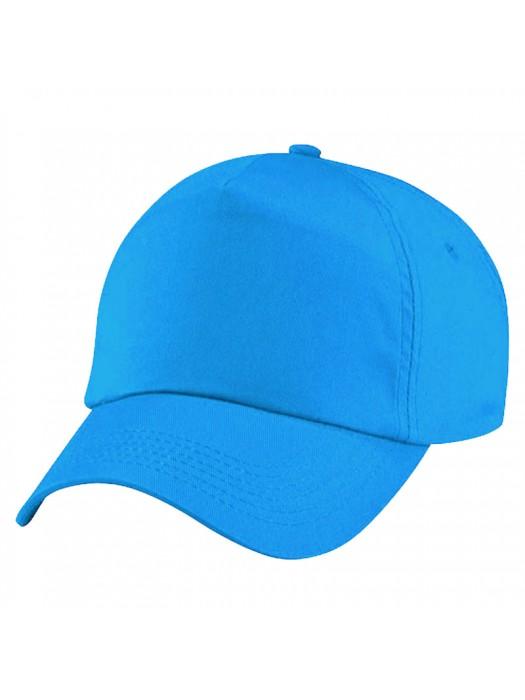 Plain Surf Blue Baseball Cap, Surf Blue Caps