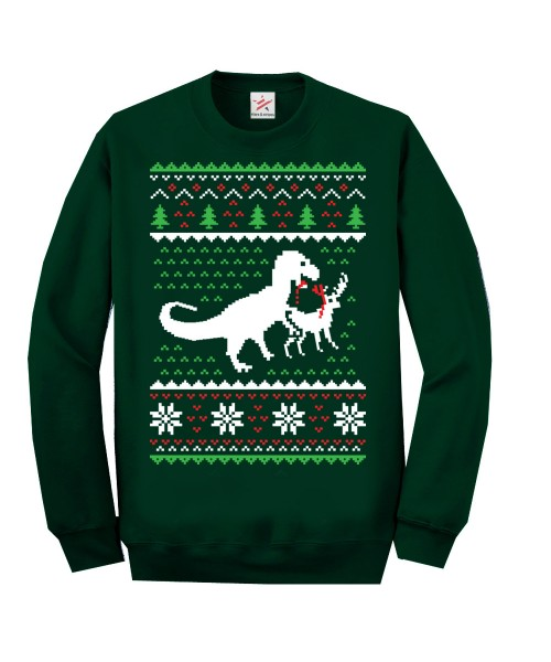 Christmas Jumper Dino Dear Sweatshirt