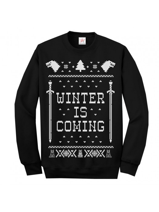 Christmas Jumper Winter is Coming Sweatshirt