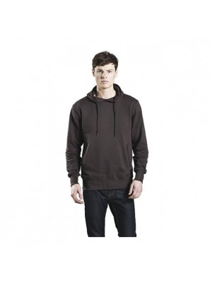 Plain Men's Organic Fashion Pullover Hoody - Climate Neutral Earth Positive 280-300 GSM
