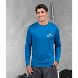 Gym Wear T Shirts Long sleeve Gym Croc Fitness Training, Men's Gym Clothing