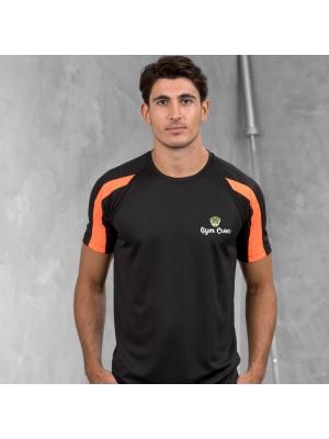 Gym Wear T Shirts Contrast Gym Croc Fitness Training, Men's Gym Clothing