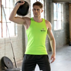 Gym Wear Vest Cool Gym Croc Fitness Training, Men's Gym Clothing