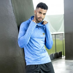 Gym Wear Top Cool cowl neck Gym Croc Fitness Training, Men's Gym Clothing