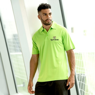 Gym Wear Polo Shirt Cool Gym Croc Fitness Training, Men's Gym Clothing
