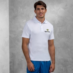 Gym Wear Polo Shirt SuperCool performance Gym Croc Fitness Training, Men's Gym Clothing