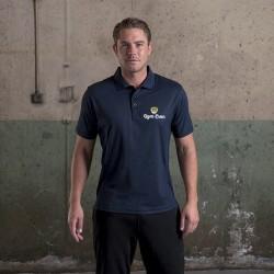 Gym Wear Polo Shirt SuperCool performance Gym Croc Fitness Training, Men's Gym Clothing