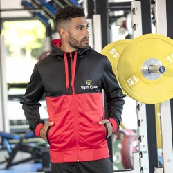 Gym Wear zoodie Cool retro track Gym Croc Fitness Training, Men's Gym Clothing