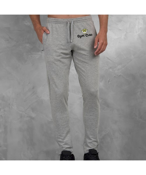 Gym Wear Jog Pants Cool tapered Gym Croc Fitness Training, Men's Gym Clothing