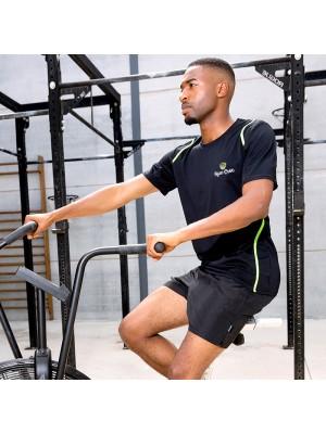 Gym Wear T Shirts Gamegear® Cooltex® Gym Croc Fitness Training, Men's Gym Clothing
