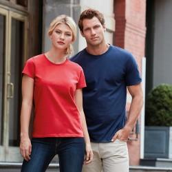Personalised T Shirt Ladies Premium Cotton Gildan White 180gsm, Colours 185gsm with custom design printed