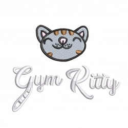 Gym Wear Vest Girlie cool smooth sports Gym Kitty Fitness Training, Yoga