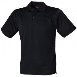 Personalised Polo Shirts Coolplus Henbury 180gsm with custom text Embroidery or logo