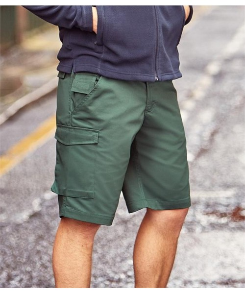 Plain WORKWEAR WORK SHORTS RUSSELL 245 GSM