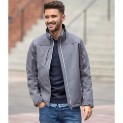 Plain BIONIC SOFT SHELL JACKET RUSSELL 320 GSM