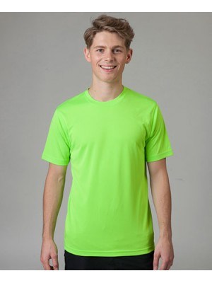 Electric Green Neon Polyester Tshirt