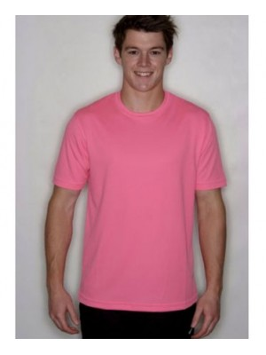 Electric Pink Neon Polyester Tshirt