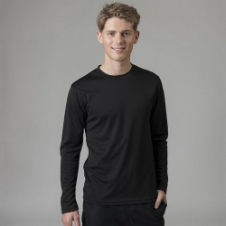 Long sleeve cool polyester t-shirt