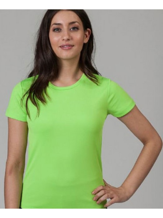 Womens Cool Electric Green Neon Tshirt