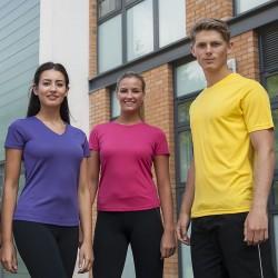 Ladies V-neck Cool T-shirt