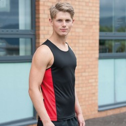 Cool contrast sporting vest