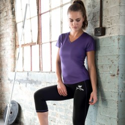Gym Wear Capri Girlie cool Gym Kitty Fitness Training, Yoga