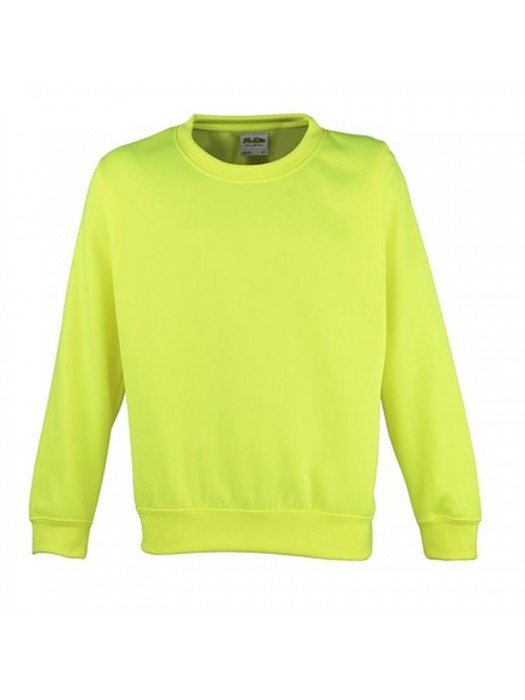 AWD Adult Electric Yellow sweatshirt