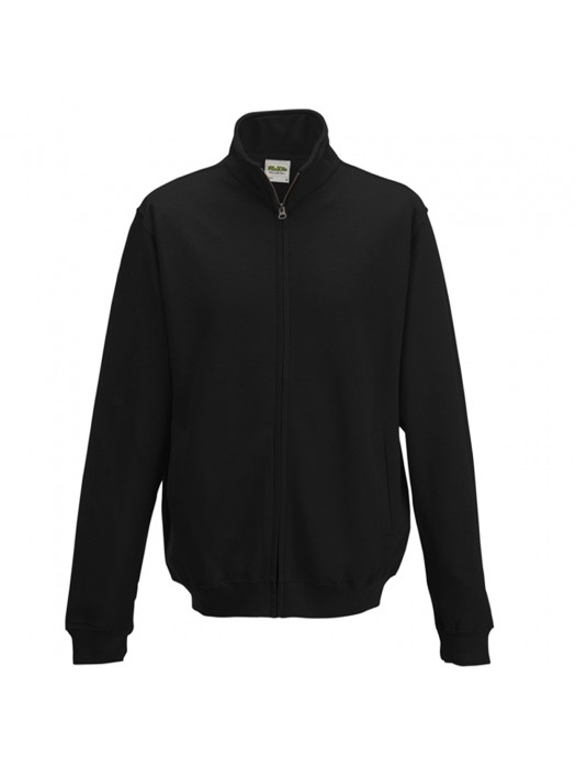 AWD Black Adult Fresher varsity full zip sweatshirt