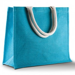 Plain Jute beach BAG KI-MOOD