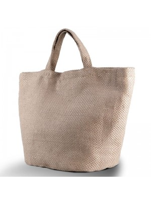 Plain Fashion jute bag KI-MOOD