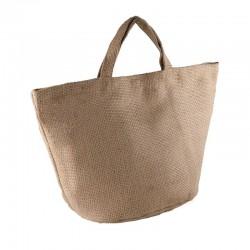 Plain Fashion jute bag KI-MOOD
