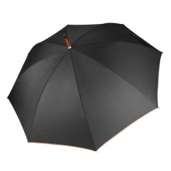 Plain Automatic wooden umbrella KI-MOOD