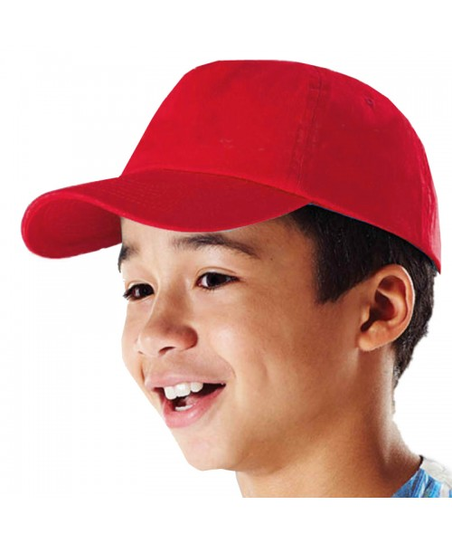 Plain Kids Baseball Cap 67 GSM