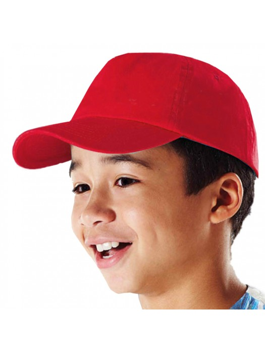 Plain Kids Baseball Cap 67 GSM