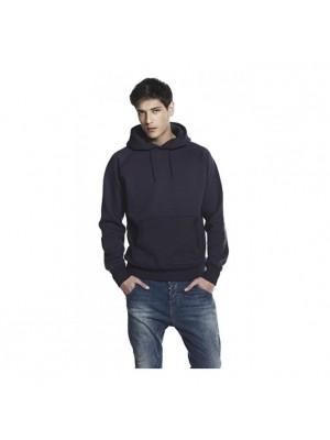 Plain Men's pullover hooded sweatshirt Continental 320 GSM