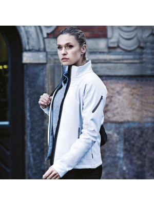 Plain Women's Duxbury softshell Jacket NIMBUS