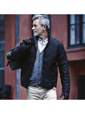 Plain Mens Leyland reversible jacket NIMBUS