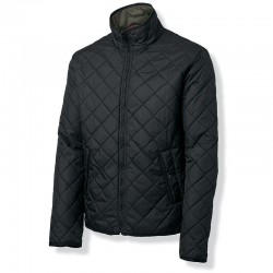 Plain Mens Leyland reversible jacket NIMBUS