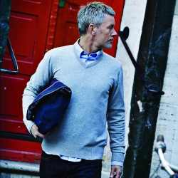 Plain Cambridge knit sweater NIMBUS 200 GSM