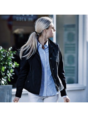 Plain Women's Oxbridge jacket NIMBUS