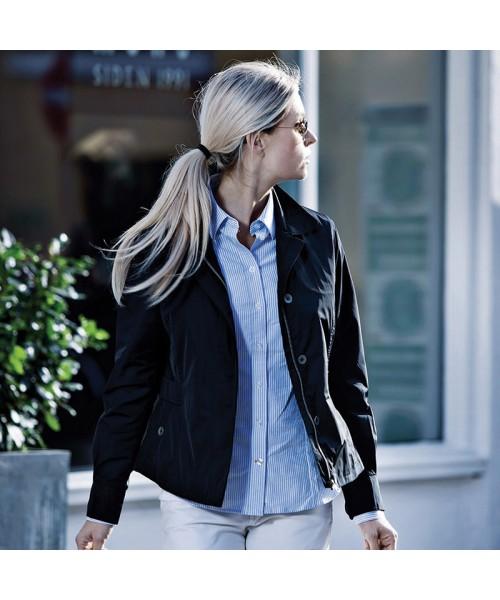 Plain Women's Oxbridge jacket NIMBUS