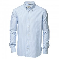 Plain Mens Rochester Oxford shirt NIMBUS 170 GSM