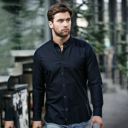 Plain Rochester Oxford shirt slim fit NIMBUS 170 GSM