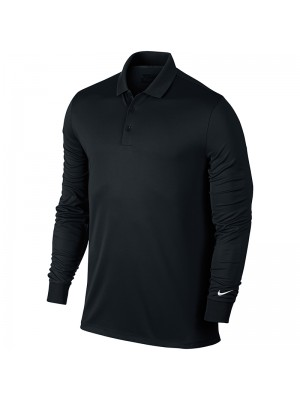 Plain victory long sleeve polo Nike